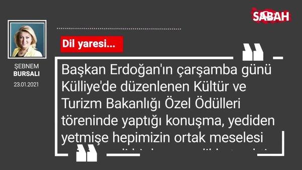 Şebnem Bursalı   Dil yaresi...