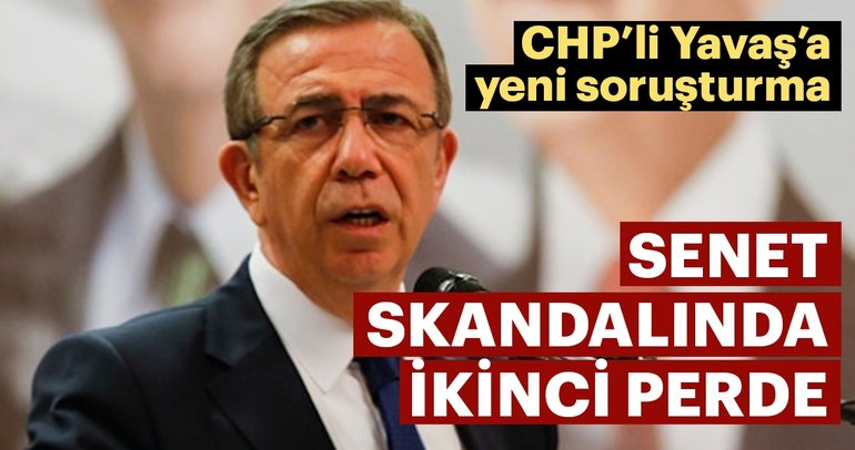 CHP'li Mansur Yavaş'a şantaj soruşturması