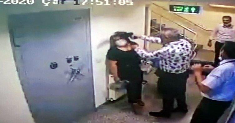 Şaka gibi savunma! Banka çalışanının kafasına silah dayamıştı!