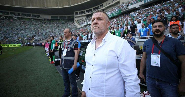 Bursaspor'da kritik maç öncesi stoper krizi!