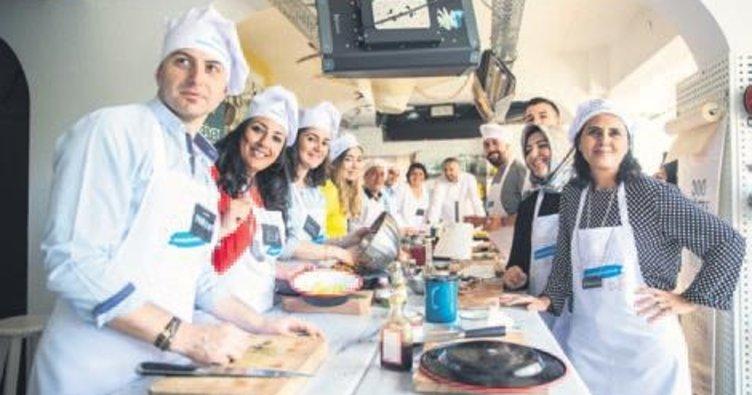 Türkiye Finans çalışanları mutfağa girdi