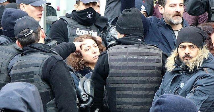 HDP'li vekil kadın polisin kolunu ısırdı