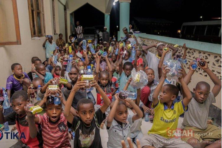 TİKA Ramazan Bayramı'nı Tanzanyalı insanlar ile paylaştı