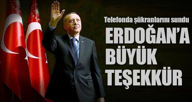 Abbas'tan Erdoğan'a ezan teşekkürü