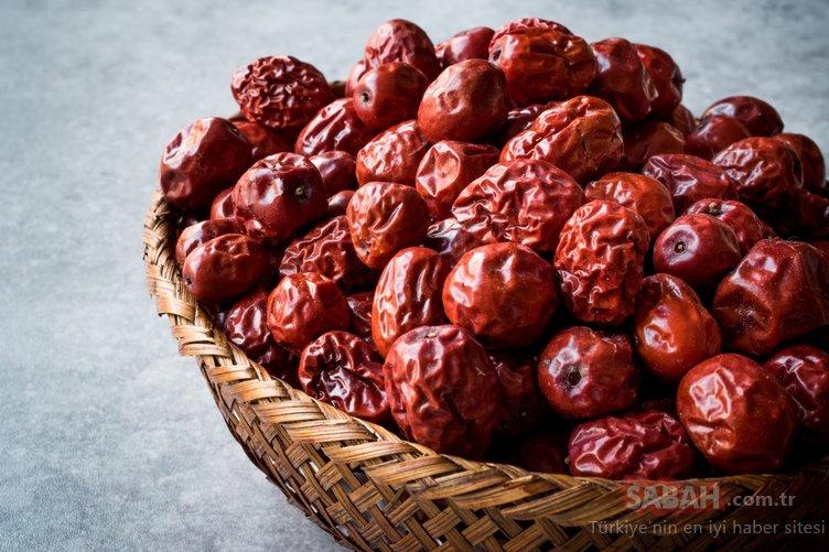 Vücuttaki pis kanı temizleyen hünnap meyvesinin faydaları nelerdir? İşte hünnap meyvesi faydaları...