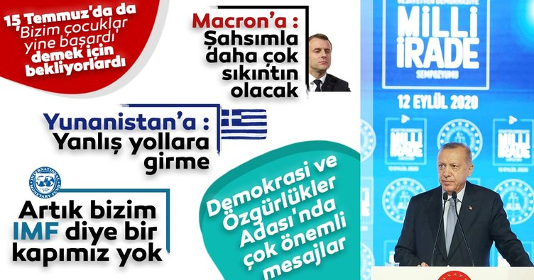 Son dakika haberi: Demokrasi ve Özgürlükler Adası'nda bir ilk! Başkan Erdoğan'dan önemli açıklamalar...
