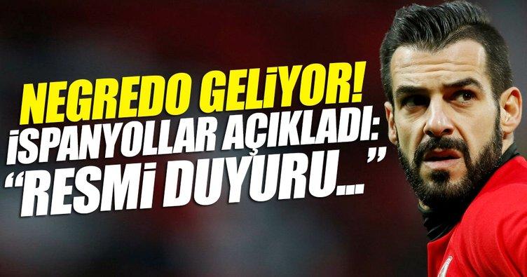 Negredo Beşiktaş'a doğru