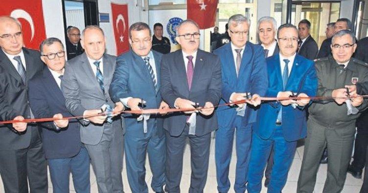 Antalya'da Adliyesi'ne polis merkezi