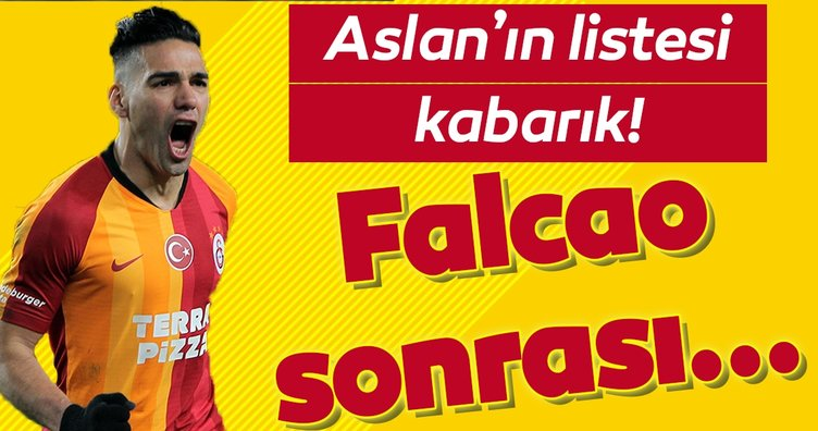 Galatasaray'ın planı hazır! Falcao sonrası...