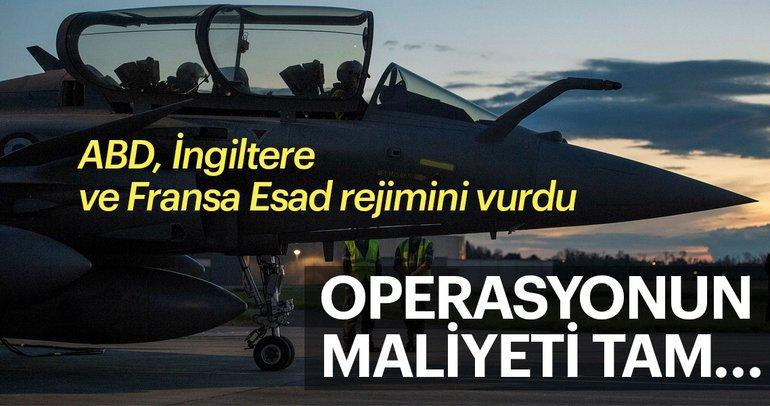Suriye operasyonunun maliyeti dudak uçuklattı!