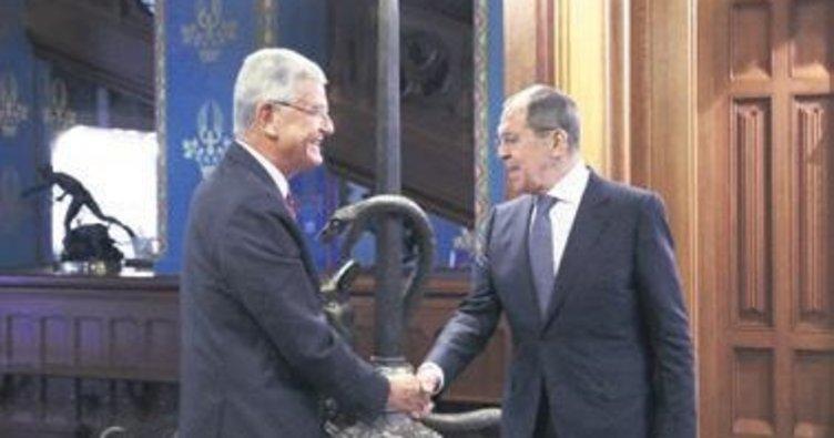 Bozkır Lavrov ile görüştü