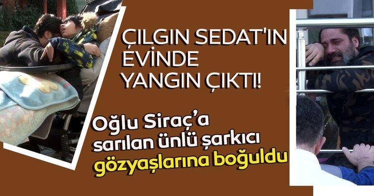 Son dakika magazin haberleri: Çılgın Sedat'ın evinde yangın çıktı! Engelli çocuğuna sarılan ünlü şarkıcı gözyaşlarına boğuldu