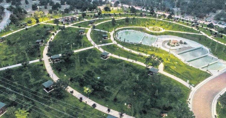 Bozkır'ın ortasında bir vaha: Meram Millet Bahçesi