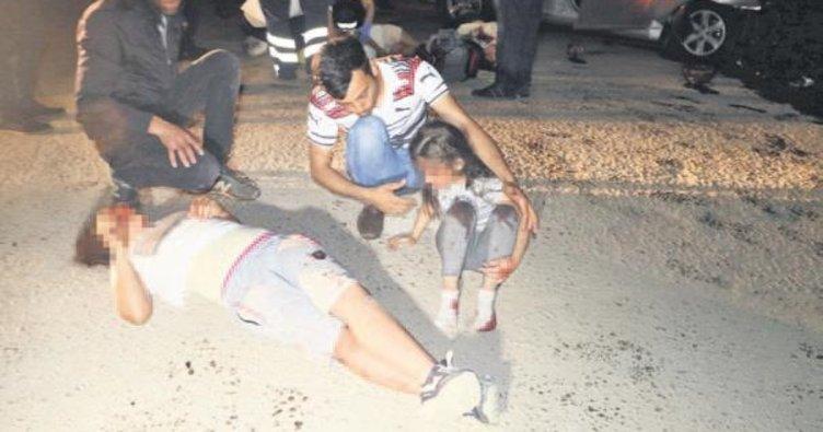 Yaralı kurtuldular hastanede öldüler