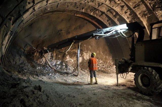 Ovit Tüneli'nde ışık göründü