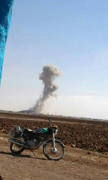 Dabık'ta DEAŞ'a karşı başlatılan operasyondan fotoğraflar