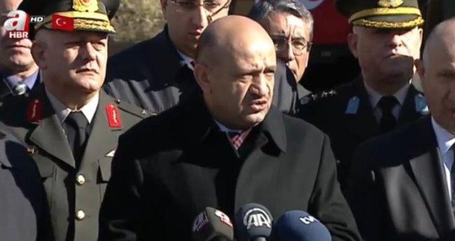Milli Savunma Bakanı Işık'tan önemli açıklamalar