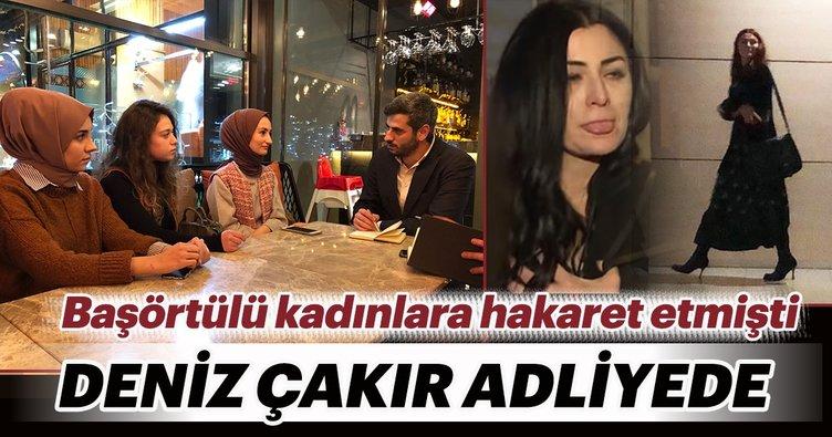 Deniz Çakır'dan son dakika haberi geldi! Çağlayan Adliyesi'nde ifade verdi