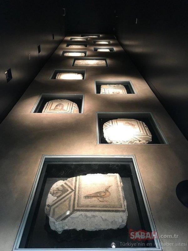 Son dakika: Çingene Kızı mozaiğinin kayıp parçaları Türkiye'de
