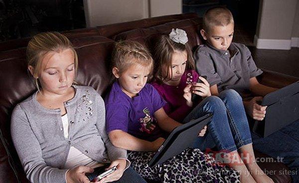 Çocuklarınız iki saatte bir elektronik cihaz kullanımına ara versin