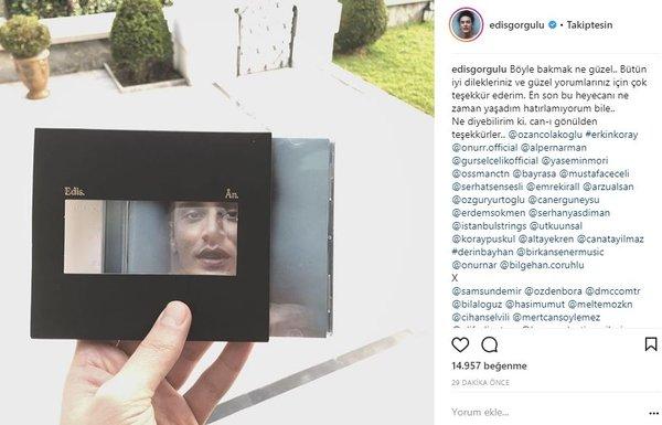 Ünlü isimlerin Instagram paylaşımları (07.03.2018)