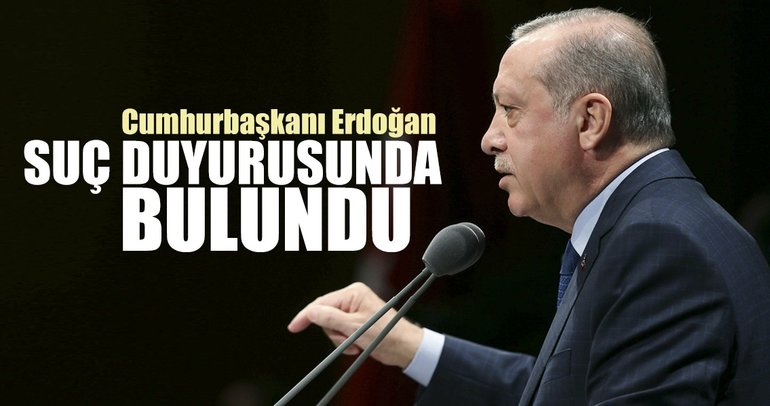 Erdoğan'dan Defarges'a suç duyurusu
