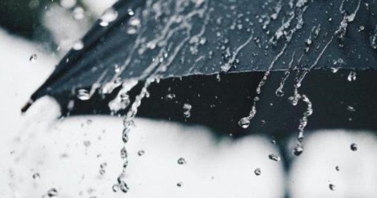 Orta Karadeniz'de şiddetli yağış uyarısı