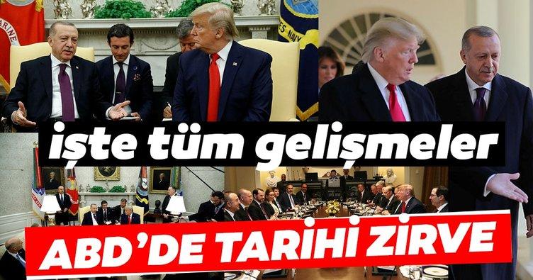 Son Dakika haberi: Erdoğan - Trump görüşmesi sona erdi! İşte görüşmenin öne çıkan detayları...