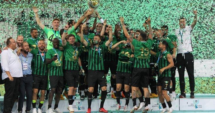 TFF'den Akhisarspor'a kutlama