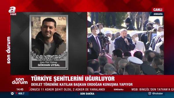 Türkiye şehitlerini uğurluyor: Başkan Erdoğan'dan önemli açıklamalar | Video