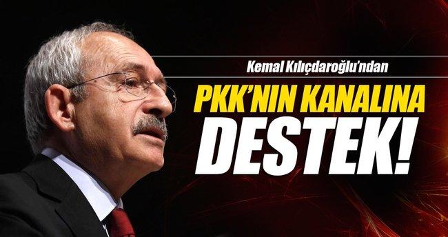Kılıçdaroğlu'ndan PKK'nın kanalına destek!