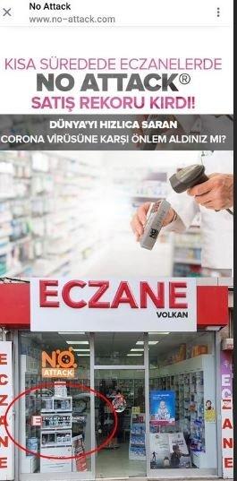 Koronavirüsten koruduğu iddia edilen No-Attack isimli bu ürün halkın sağlığı ile oynuyor... Ünlü isimler bu suça ortak oluyor!