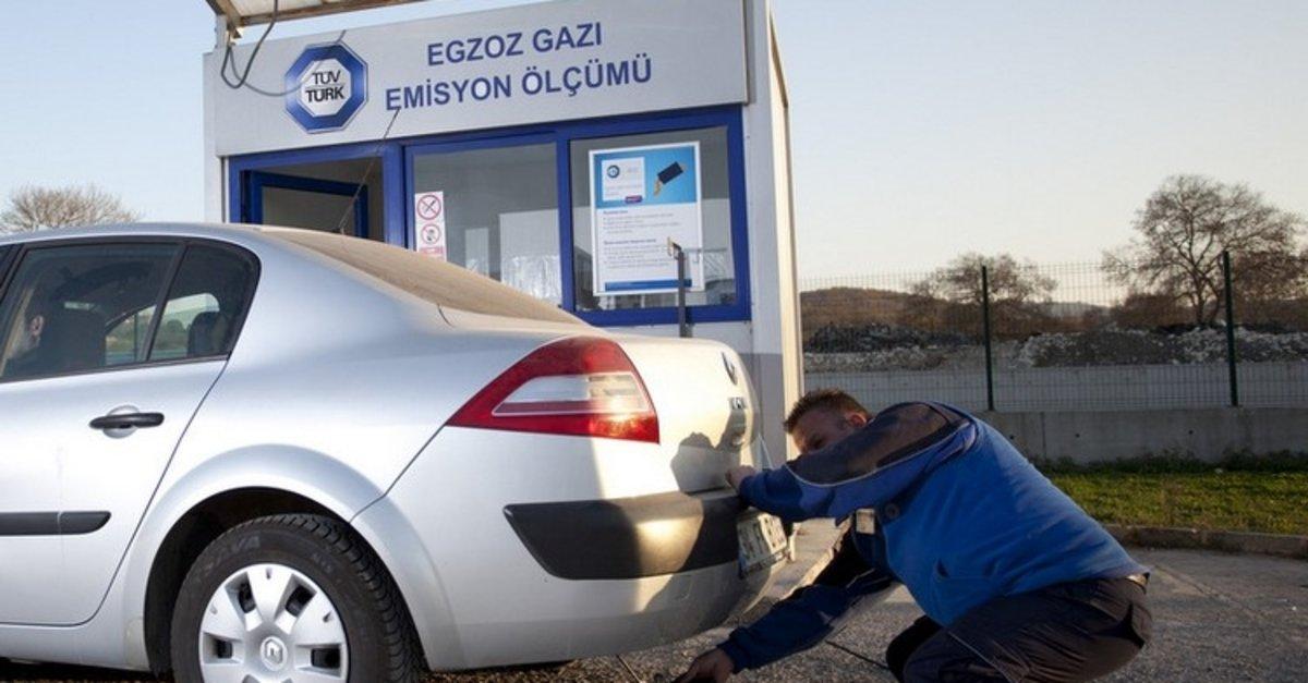 Son dakika | Bakan açıkladı: Egzos emisyon ölçümü tüm araçlar için  ertelendi - Son Dakika Haberler