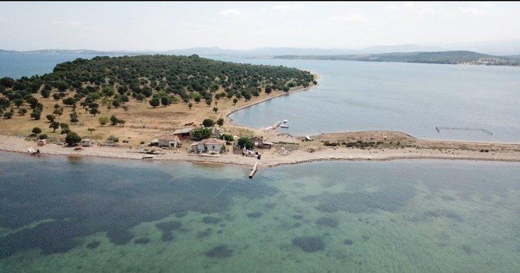 105 milyon TL'ye satılık ada