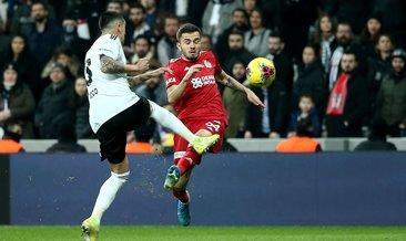 Beşiktaş 1-2 Demir Grup Sivasspor MAÇ SONUCU
