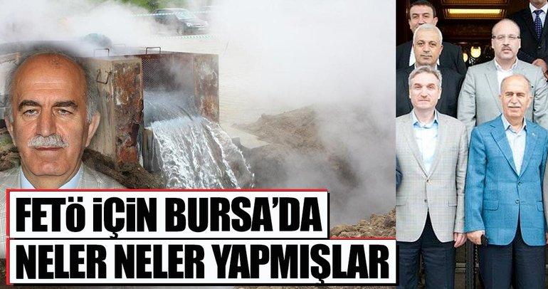 Bursa'da FETÖ'ye kaynak sağlamak için bakın ne yaptılar!