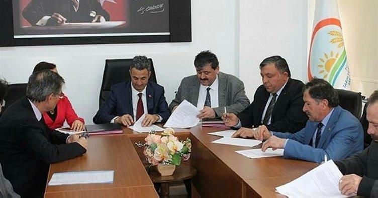 Çiftçi eğitimleri için işbirliği protokolü imzalandı