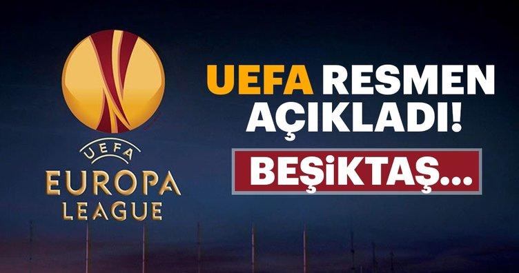 UEFA açıkladı! Beşiktaş...