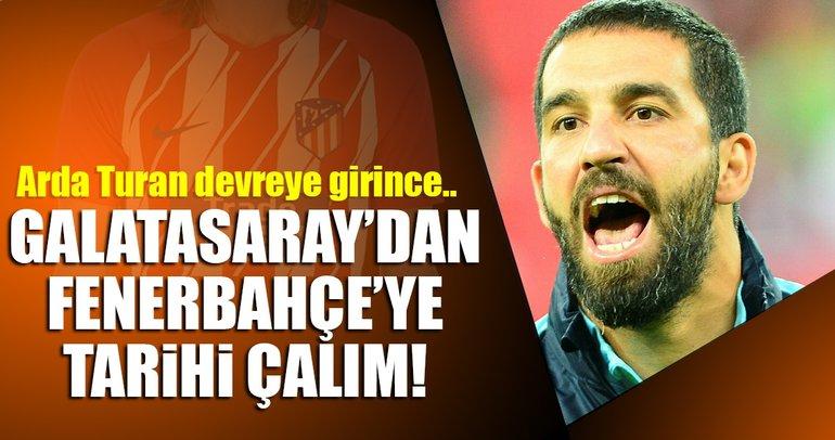 Fenerbahçe için geldi, Galatasarayla anlaştı