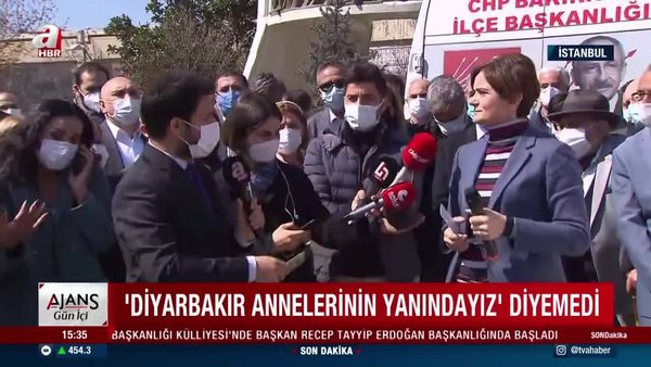 CHP İstanbul İl Başkanı  Canan Kaftancıoğlu'nun zor anları! A Haber'in sorularına cevap veremedi...