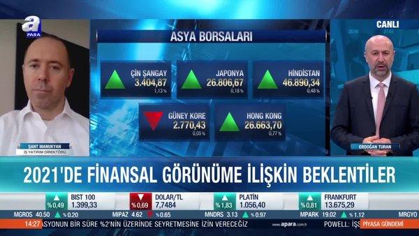 Şant Manukyan: 2021'de endüstriyel emtialara talep artacak