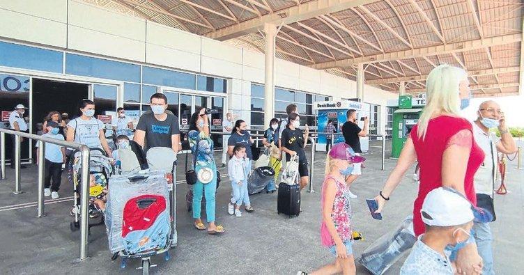 Turist sayısı 3 milyonu aşar