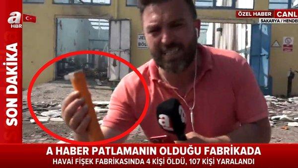 Son Dakika: Sakarya'da patlamanın olduğu fabrikanın içinden flaş canlı yayın! Patlamaya sebep olan...   Video