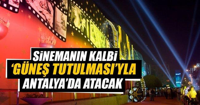 Sinemanın kalbi Antalya'da atacak