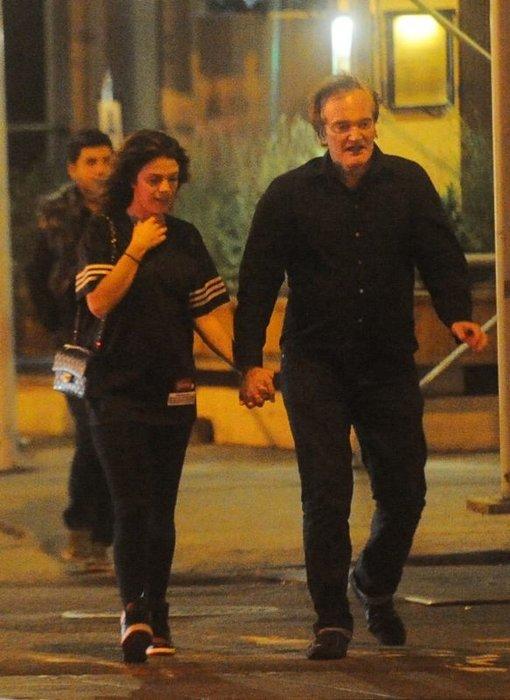 Quentin Tarantino'ya genç sevgili
