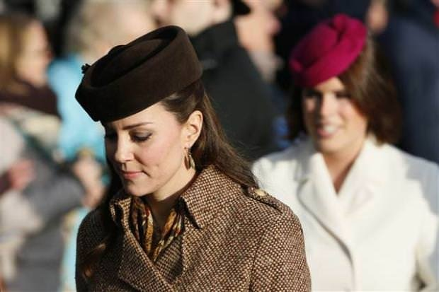 Kate Middleton ve Prens William Noel kutlamasında