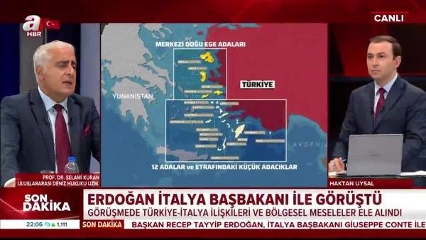 Lozan Antlaşması Yunanistan tarafından nasıl ihlal edildi? Prof. Dr. Selami Kuran A Haber'de anlattı   Video