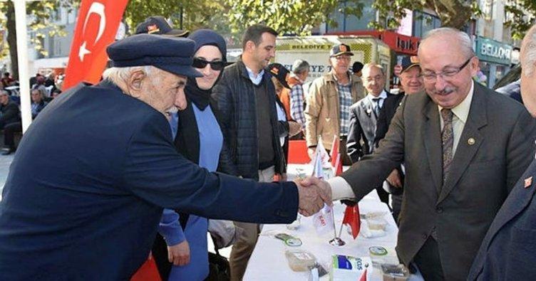 Başkan Albayrak, aşure etkinliğine katıldı