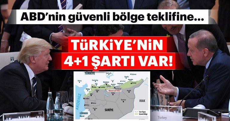 Türkiye'nin 4+1 şartı var