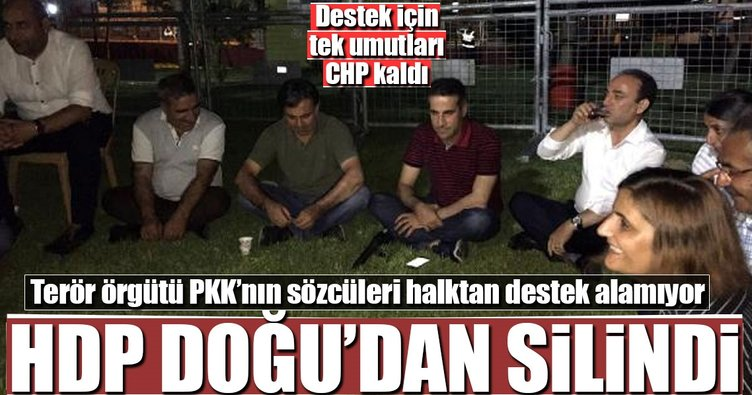 HDP kendi çalıp kendi oynuyor